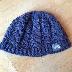 North Face Light Blue Winter Hat